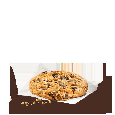Des biscuits à l'américaine: le plein de pépites de chocolat noir dans  une pâte claire pour un pur moment de bonheur quand vous croquerez ce  cookie.