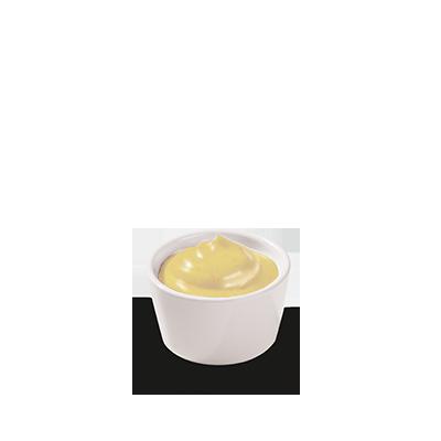 <p>Notre sauce frites crémeuse et épicée ressemble à de la mayonnaise.</p>