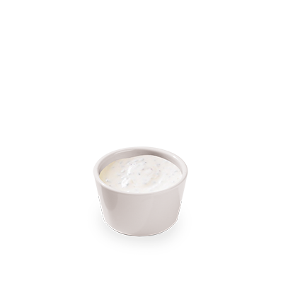 Qui yogurt e spezie pregiate la fanno da padrone: un dressing delicato e fresco che completa perfettamente la tua insalata.